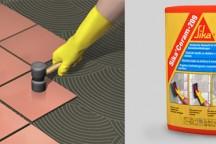 SikaCeram®-209 эластичный клей для плитки для наружных работ на вертикальных основаниях