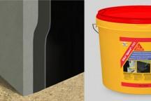 Sika®Igasol® – 101 битумная обмазочная гидроизоляция фундамента в