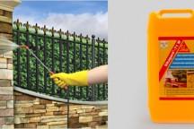 Sikagard® – 71 W гидрофобизирующая пропитка для фасадов и стен на водной основе