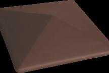 (03) Керамическая шляпа Kоричневый