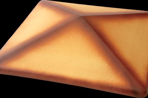 (11) Керамічна шляпа Пустельна троянда тон
