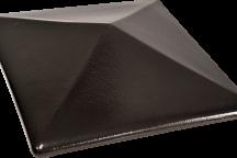(17) Керамічна шляпа Оніксово чорний