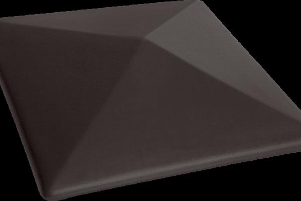 (18) Керамічна шляпа Вулканічний чорний