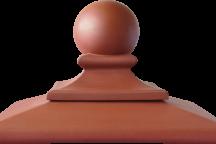 (01) Керамическая шляпа Kрасная Royal