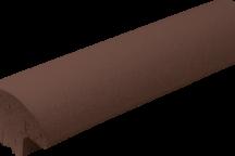 (03) Отделочная плитка для ограждений Коричневая