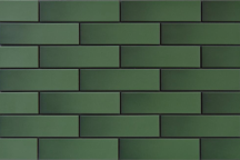 Клинкерная плитка глазурованная - Zielona Szkliwiona (Plytki Elewacyjne)