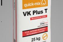 Кладочный раствор VK plus T с трассом
